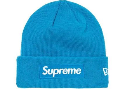 Supreme ニットキャップ・ビーニー Supreme シュプリーム  New Era Box Logo Beanie 18 FW  WEEK 12(9)