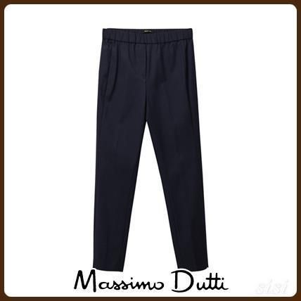 MassimoDutti♪SKINNY FIT TROUSERS WITH SIDE SLITS