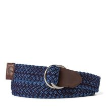Braided Cotton O-Ring Belt