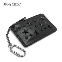 国内即発Jimmy Choo NANCY ENL BLACK/BLACK コインケース