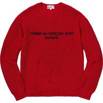 関税込み 国内発送 Supreme Comme des Garcons Cotton Sweater