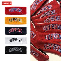 FW18 Supreme  New Era Sequin Arc Logo Headband  ヘッドバンド