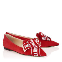 JIMMY★CHOO<VIPセールで可愛い>大人気GLEAM/RED