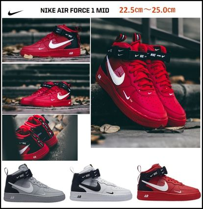 【NIKE】人気! 大人も履ける ★AIR FORCE 1 MID LV8