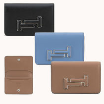 TOD'S / 選べる3色 名刺入れ Business Cardholder in Leather