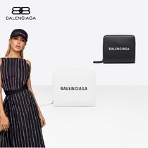 新作☆2色【BALENCIAGA】EVERYDAY BILLFOLD☆ミニ財布☆