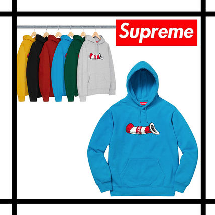 buyma 国内発送 supreme cat in the hat hooded sweatshirt 39693157