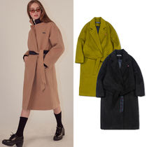★SCULPTOR★韓国 ロングコート 18AW Gown Long Coat【全3色】