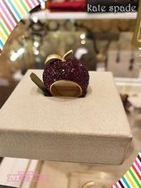 kate spade★dashing beauty apple ringキラキラアップルリンゴ