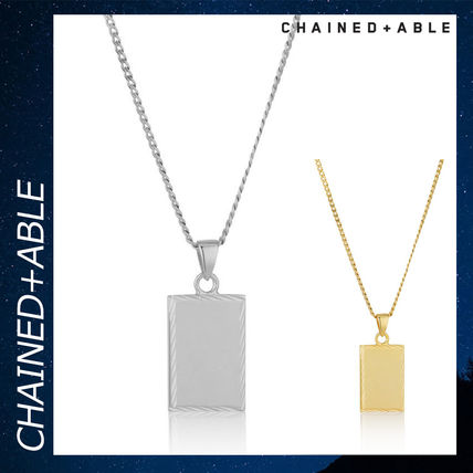 Chained & Able ネックレス・チョーカー Chained & Able タグ シルバー ネックレス アクセサリー 銀 各色
