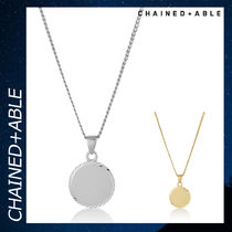 Chained & Able メダリオン アクセサリー ネックレス 銀 各色