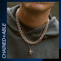 Chained & Able リンクチェーン アクセサリー ネックレス 各色