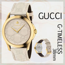GUCCI【関税・送料込】 (38mm) G-Timeless エレガントWatches