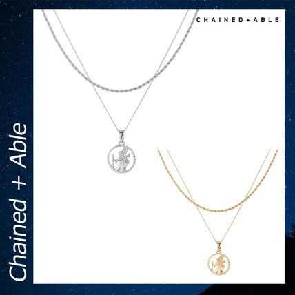 Chained & Able ネックレス・チョーカー Chained & Able ST CHRISTOPHER アクセサリー ネックレス 各色