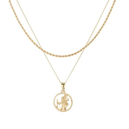 Chained & Able ネックレス・チョーカー Chained & Able ST CHRISTOPHER アクセサリー ネックレス 各色(3)