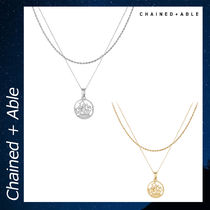 Chained & Able HALF PENNY CUT アクセサリー ネックレス 各色