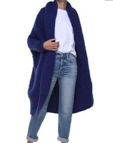 18AW I love Mr Mittens Pearl cable-knirt oversized cardigan