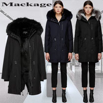 **Mackage**マッカージュ☆RENA-X fur-lined twill parka