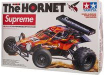 Supreme Tamiya Hornet RC Car Flames