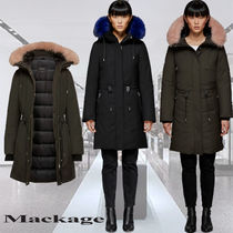 **Mackage**DENIA-DX fitted hooded parka lined with furコート