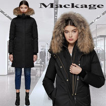 **Mackage**HARLOWE lux down coat with removable natural fur