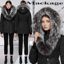 **Mackage**PRIYA-X fitted down coat with fur lined hood