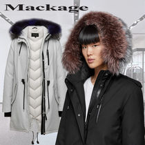 **Mackage**RENA-DX down filled twill parka with fur hood