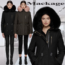**Mackage**CHARA-X hooded twill parka with fur trim コート