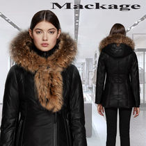 **Mackage**INGRID winter down leather jacket with furダウン