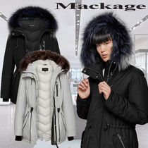 **Mackage**CHARA-DX hooded twill parka with removable fur