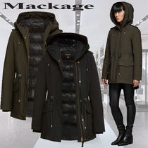 **Mackage**ALAIA 2-in-1 relaxed fit parka with down liner