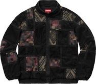 Supreme 18FW Corduroy Patchwork Denim Jacket パッチワーク