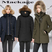 **Mackage**MARLA winter down coat with fur and removable bib