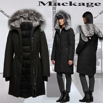 **Mackage**ENIA-X mid length winter down coat with fur
