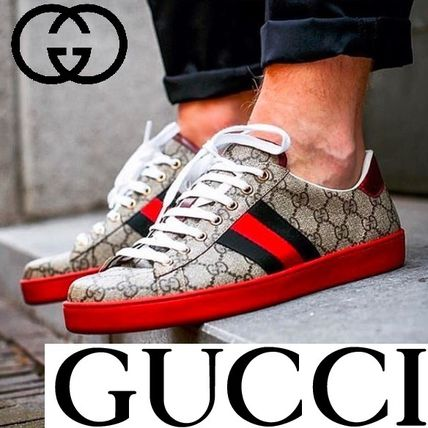 release date: 986c5 d344b オンライン限定商品★GUCCI★GGスプリームキャンバススニーカー