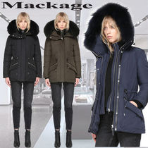 **Mackage**KATRYN hip length winter down jacket with fur