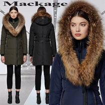 **Mackage**KAY mid length classic down coat with fur collar