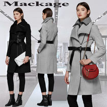 **Mackage**NORI-K tailored wool coat with lapel コート