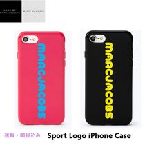 Marc Jacobsマークジェイコブス/New Sport Logo iPhone8/7ケース