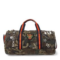 Camo Canvas Duffel