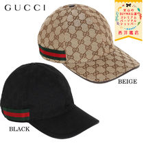 【正規品保証】GUCCI★18秋冬★GG SUPREME CANVAS BASEBALL HAT