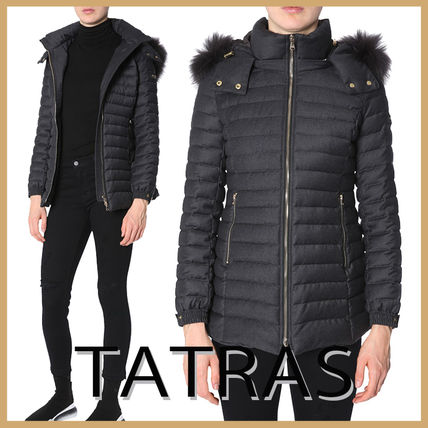 "【TATRAS】""PRIMULA"" DOWN JACKET WITH FUR-RIMMED HOOD"