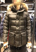 MONCLER★18/19AW ファー付きCLUNY★ダークグリーン・関税込み