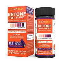 Just Fitter Ketone ケトン 体 ケトン 試験紙 125枚入り