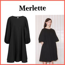 SALE★ Merlette ★  シンプルワンピ Manhattan Dress Black