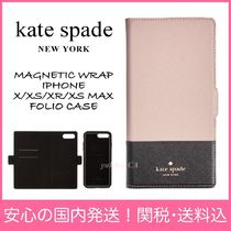 【国内発送】MAGNETIC WRAP IPHONE X/XS/XR/XS MAX FOLIO CASE