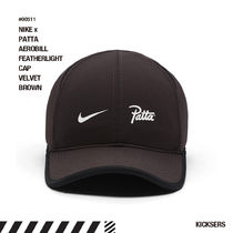 人気話題コラボ!NIKE x PATTA AEROBILL FEATHERLIGHT CAP BROWN