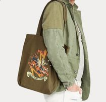POLO Ralph Lauren Military Tiger Canvas Tote