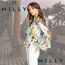 ★MILLY★Rose Print Maggie Top