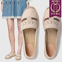 【正規品保証】GUCCI★19春夏★20MM COTTON CANVAS ESPADRILLES
